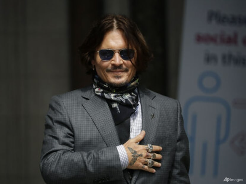 Johnny Depp says Hollywood boycotting him after his legal issues