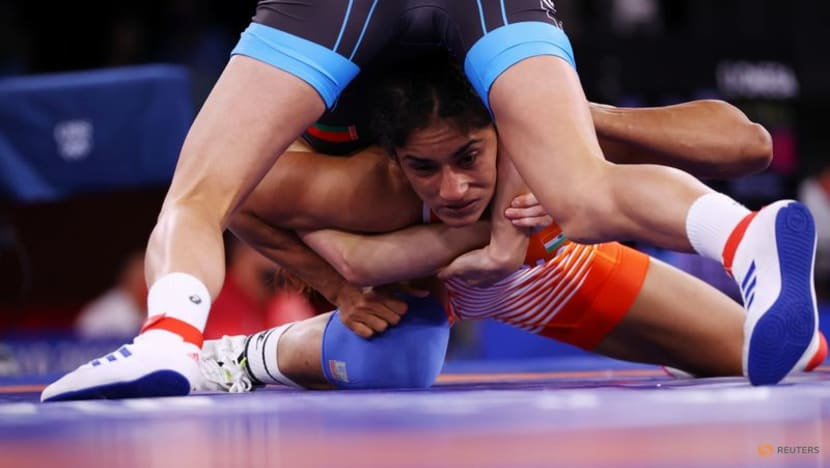 Wrestling-India's Phogat unsure of returning after Tokyo trauma