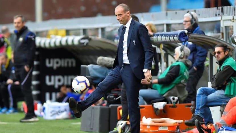 Football: Allegri eyes coaching role in Premier League