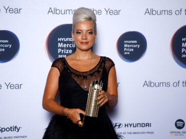 Lily Allen says West End debut comes with 'huge amount of pressure'