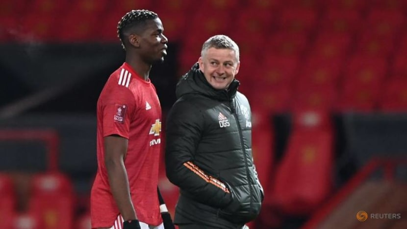 Football: Pogba still out with thigh injury, says United boss Solskjaer