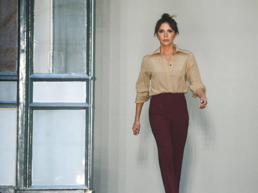 Victoria Beckham launches new makeup collection at London Fashion Week