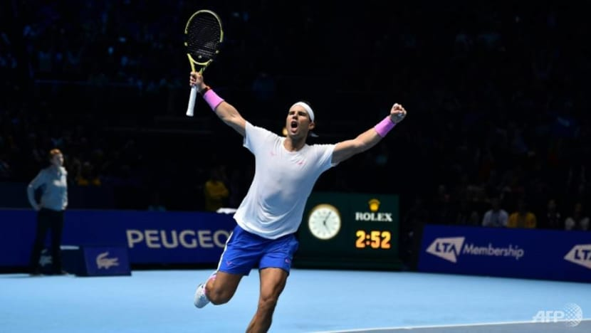 Tennis: Nadal ends year as number one for fifth time