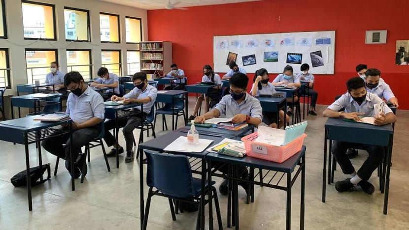 77.7% of school candidates who took N(A)-Level exams eligible for Sec 5