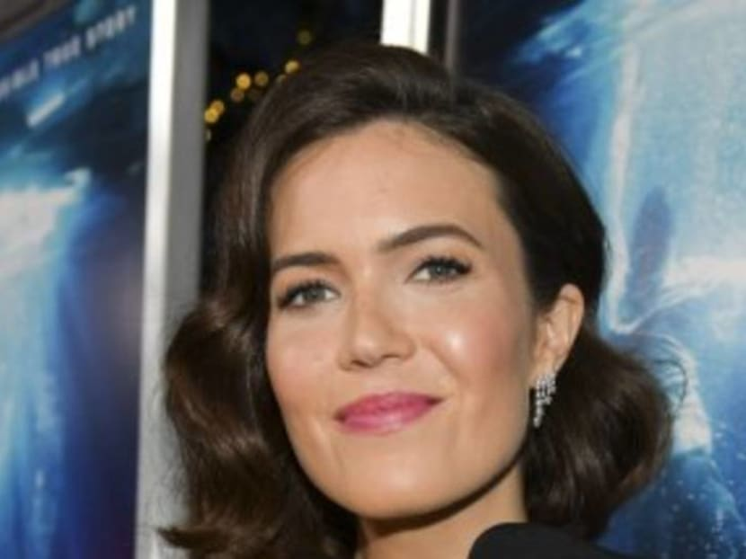 Mandy Moore climbs up to Mt Everest base camp