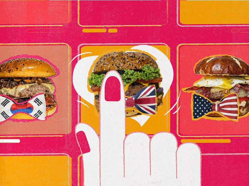 Hungry girl seeks perfect burger in Singapore – will a famous expat win her heart?
