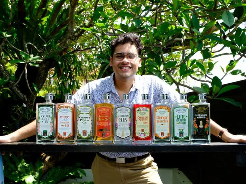 The Singaporean making gin with ingredients from your neighbourhood market