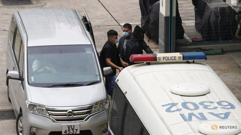 Activists freed from Chinese jail back in custody in Hong Kong