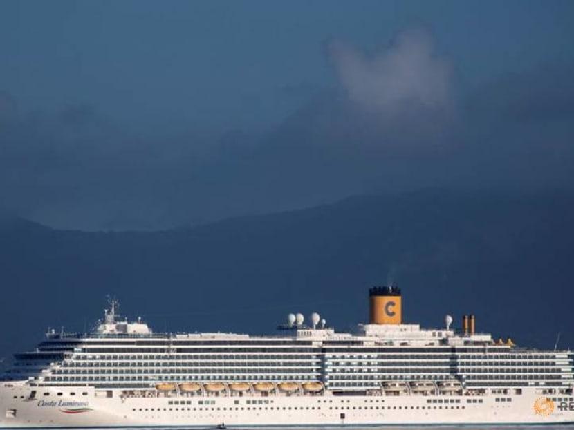 Greek island Corfu welcomes first cruise ship of new season