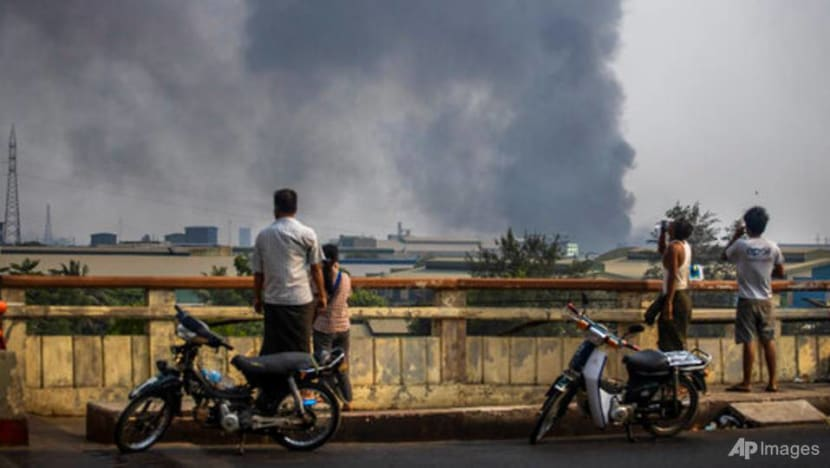 Myanmar factory attacks put focus on Chinese influence