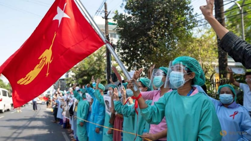 Myanmar charges doctors over civil disobedience protests