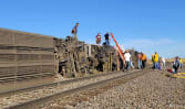 At least 3 people killed, multiple people injured after US train derailment