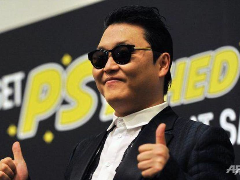 Psy shares the pain of creation