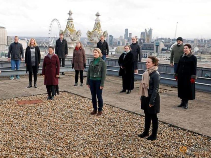 On London rooftop, Royal Opera Chorus reunites for performance