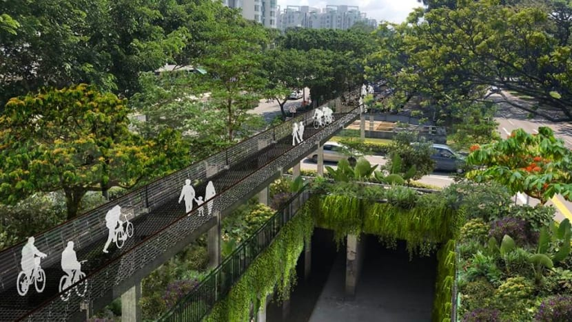 Sky park to be built above Bukit Timah canal as part of new green corridor