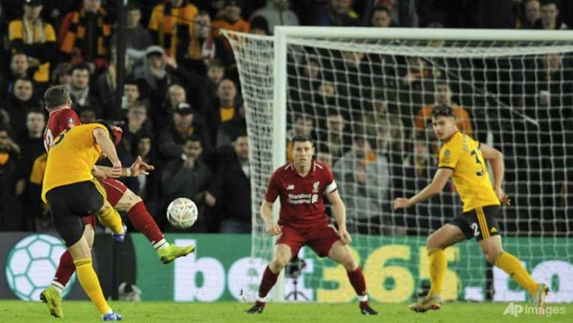Football: Liverpool dumped out of FA Cup by Wolves