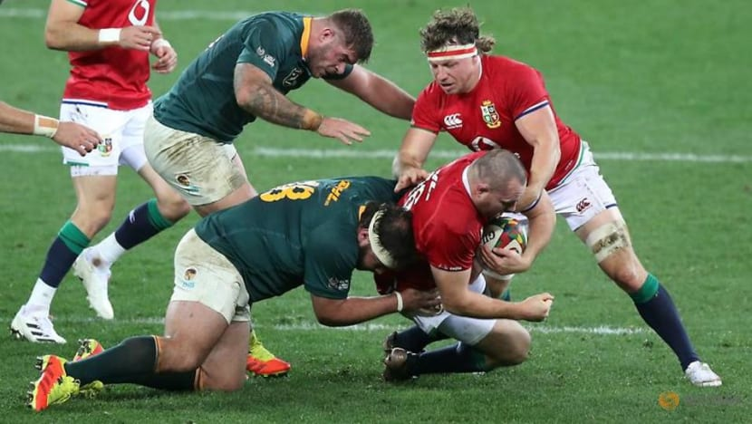 Rugby: Lions roar back after half-time to beat Boks in first test