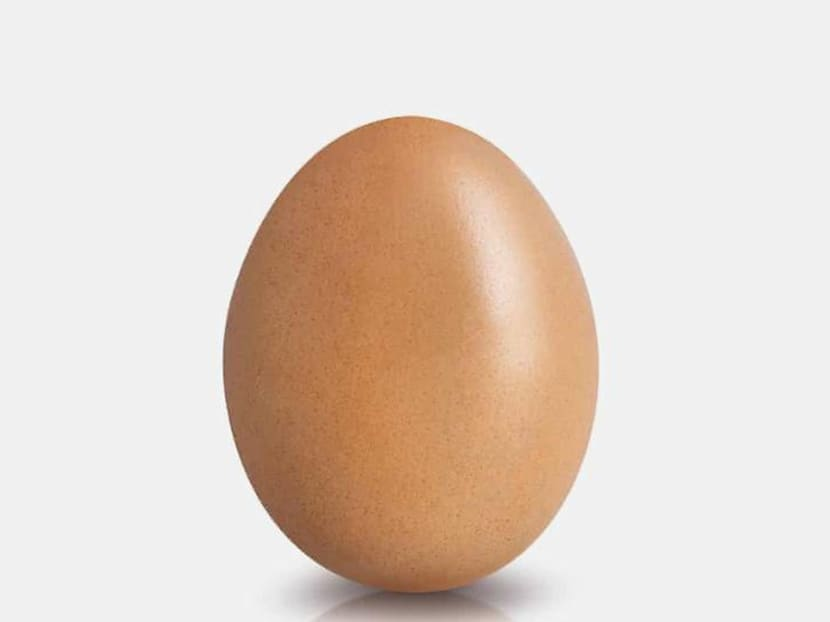 An egg dethrones Kylie Jenner on Instagram with most-liked photo