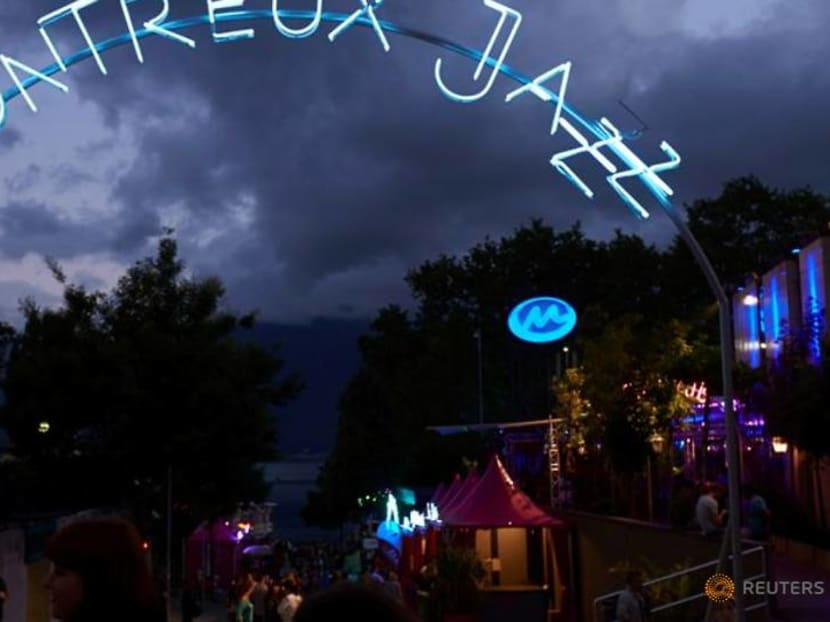 Stage on the water marks Montreux Jazz Festival's comeback