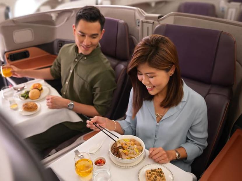 Business class lunch in SIA's A380 to cost S$300 as airline unveils pricing of new initiatives