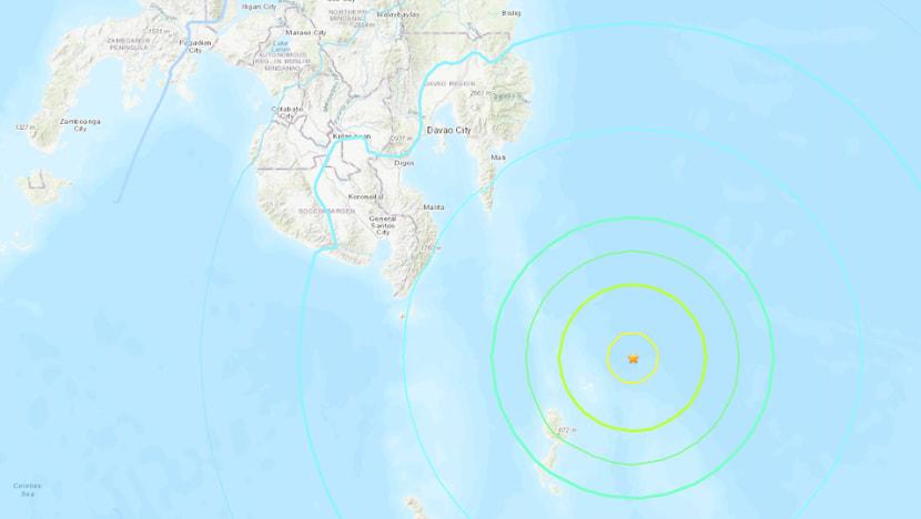 Strong earthquake shakes southern Philippines; no tsunami