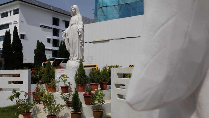 Man to be charged with trespassing and defiling statue in Hougang church