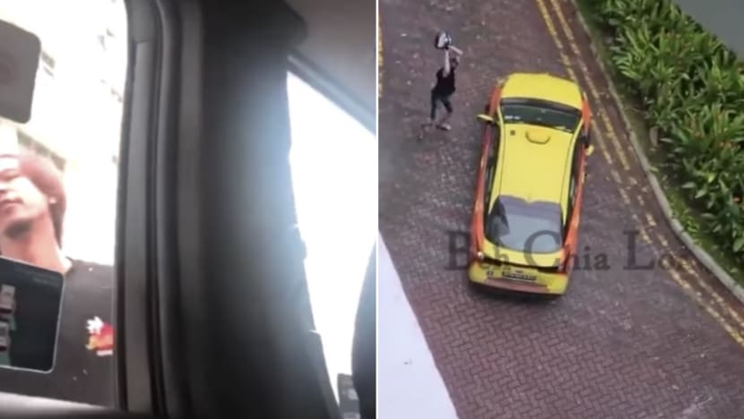 Man charged with rash act over viral video of taxi confrontation with passengers and baby in vehicle