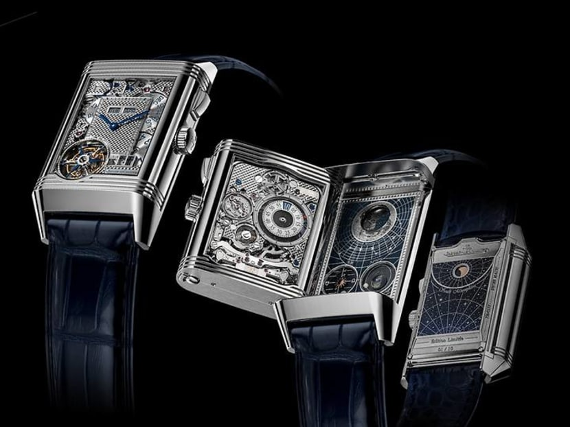 Introducing the world's first four-faced watch, priced at a cool S$2.2m