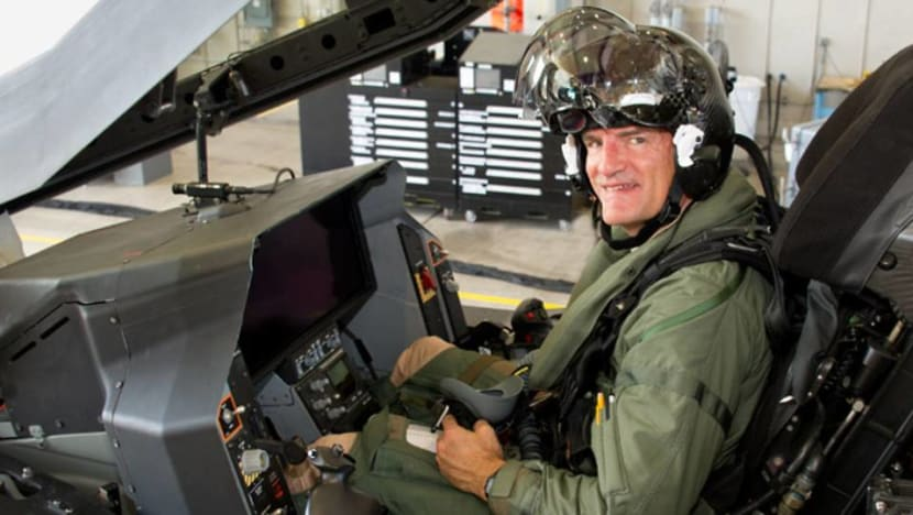 'Easiest aircraft I've ever flown': Taking the F-35 for a spin - and a fight