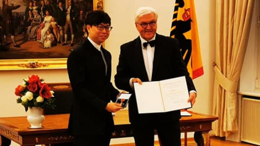 Singapore conductor Wong Kah Chun awarded Germany's highest tribute