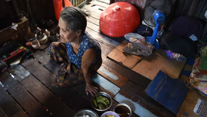 Poverty forces families in Myanmar to ditch their elderly