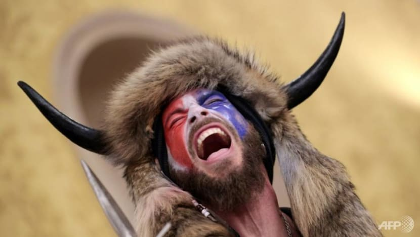 Man who wore horns in US Capitol riot moved to Virginia jail