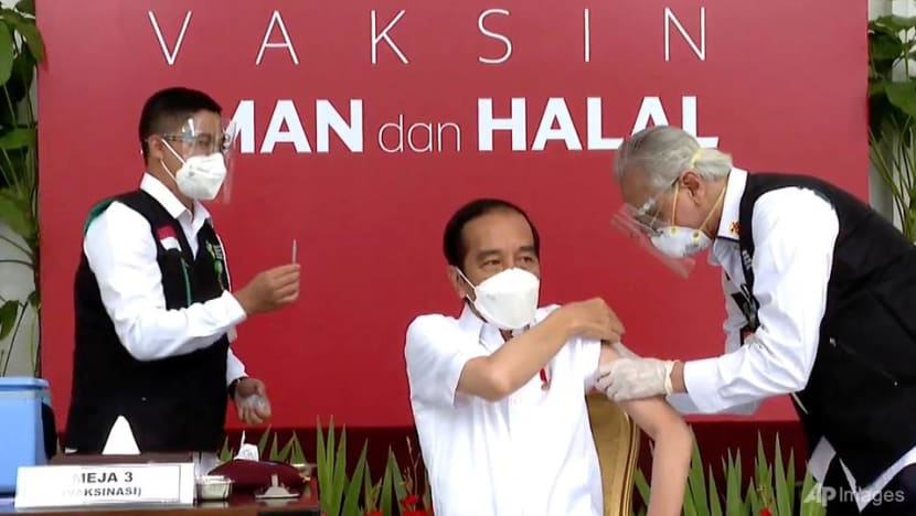 President Jokowi gets Sinovac jab to officially launch Indonesia's COVID-19 vaccination programme