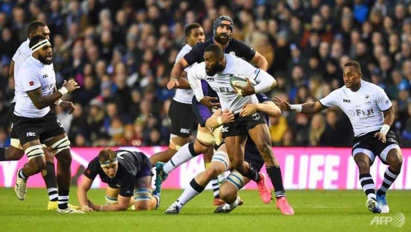 Rugby: Seymour hat-trick as eight-try Scotland thrash Fiji 54-17