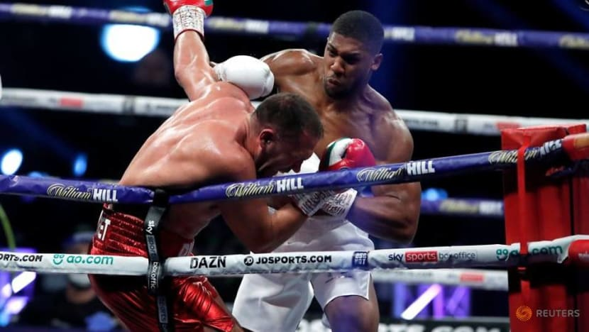 Boxing: Joshua knocks out Pulev to retain heavyweight titles