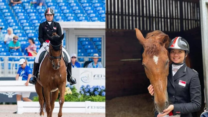 Singapore equestrian rider to make Olympic debut at Tokyo 2020
