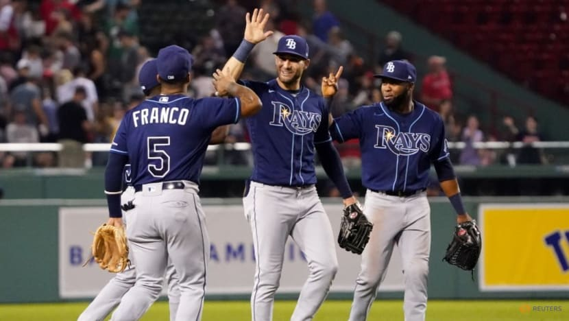 MLB roundup: Rays top Red Sox to pad AL East lead