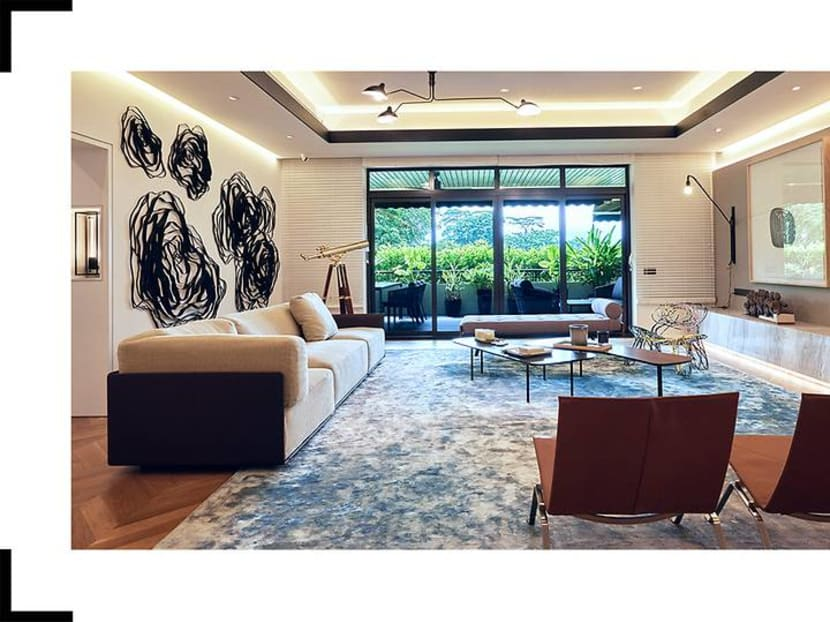 A peek into the home of Luxasia's managing director Alwyn Chong