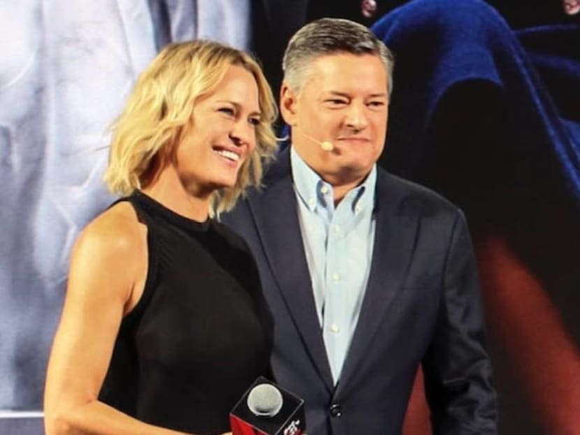 'No one wanted to leave the Oval Office': House of Cards' Robin Wright