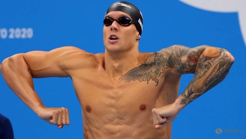 Olympics-Swimming-McKeon on for record haul, Dressel goes for high five