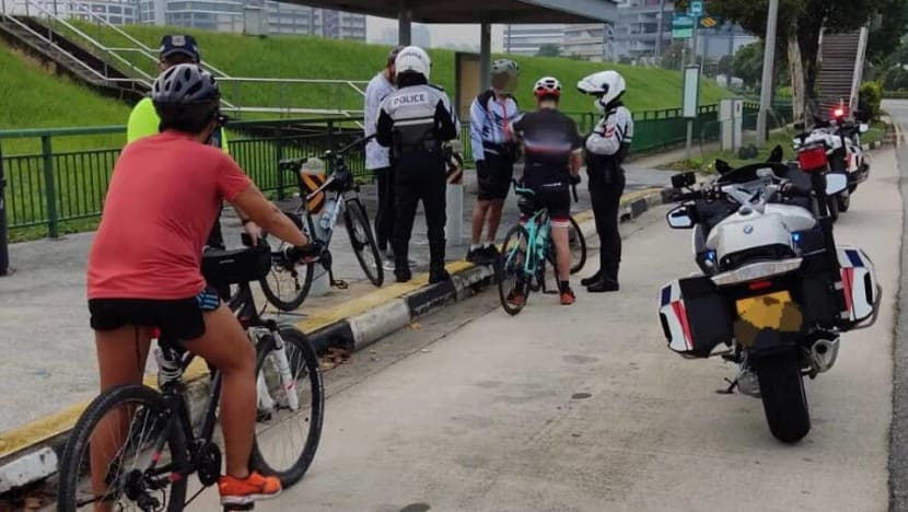 34 errant cyclists caught over two days, including 2 riding against traffic flow: LTA