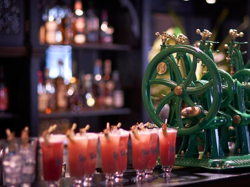 Raffles Hotel's legendary Long Bar reopens with offer on the Singapore Sling