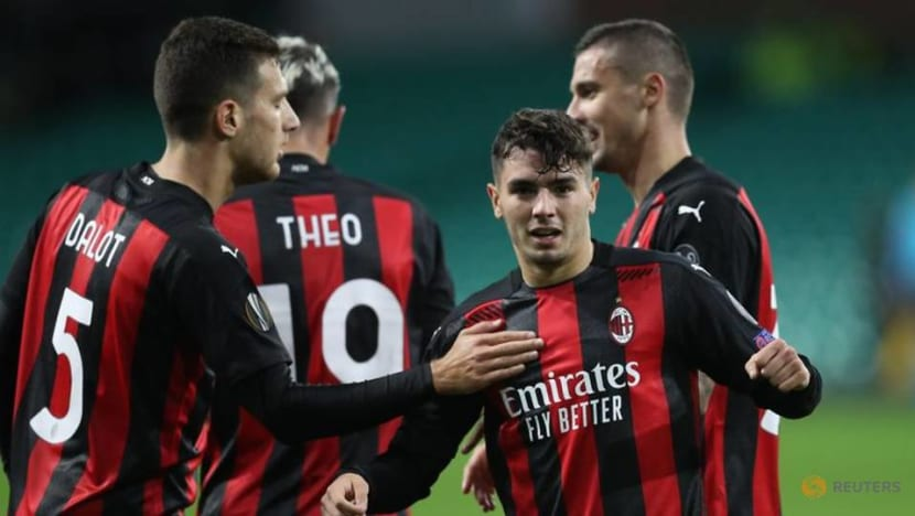 Football: Milan withstand late pressure to beat Celtic 3-1 in Europa League