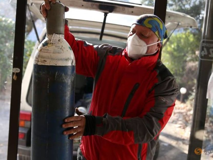 Bosnia's 'Oxygen Man' brings cheer, and supplies, to COVID-19 patients
