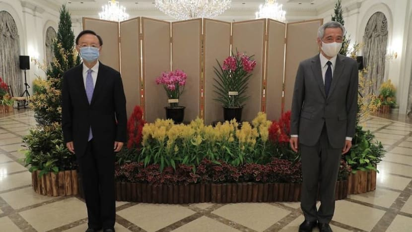 PM Lee, China's top diplomat express appreciation for mutual support during COVID-19 pandemic