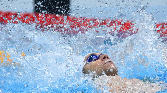 柯正文无缘100米仰泳半决赛