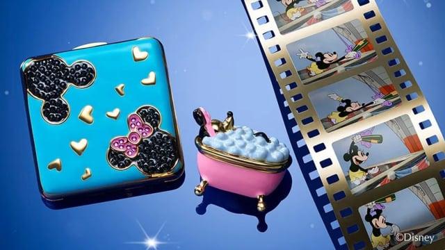 Estée Lauder年度珍藏粉饼系列 Mickey、Minnie化身精美艺术品