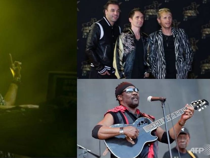 Muse, Fatboy Slim, Toots and the Maytals to light up F1 next year