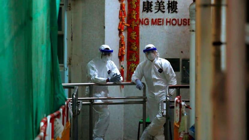 Hong Kong evacuates residential building after virus cluster find