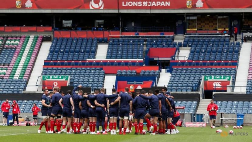Rugby-Lions name team for opening tour match